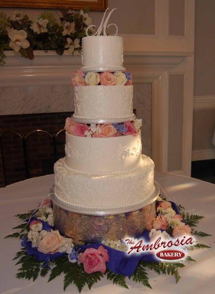 Wedding Cakes Baton Rouge  The Ambrosia Bakery Baton Rouge LA Wedding Cake