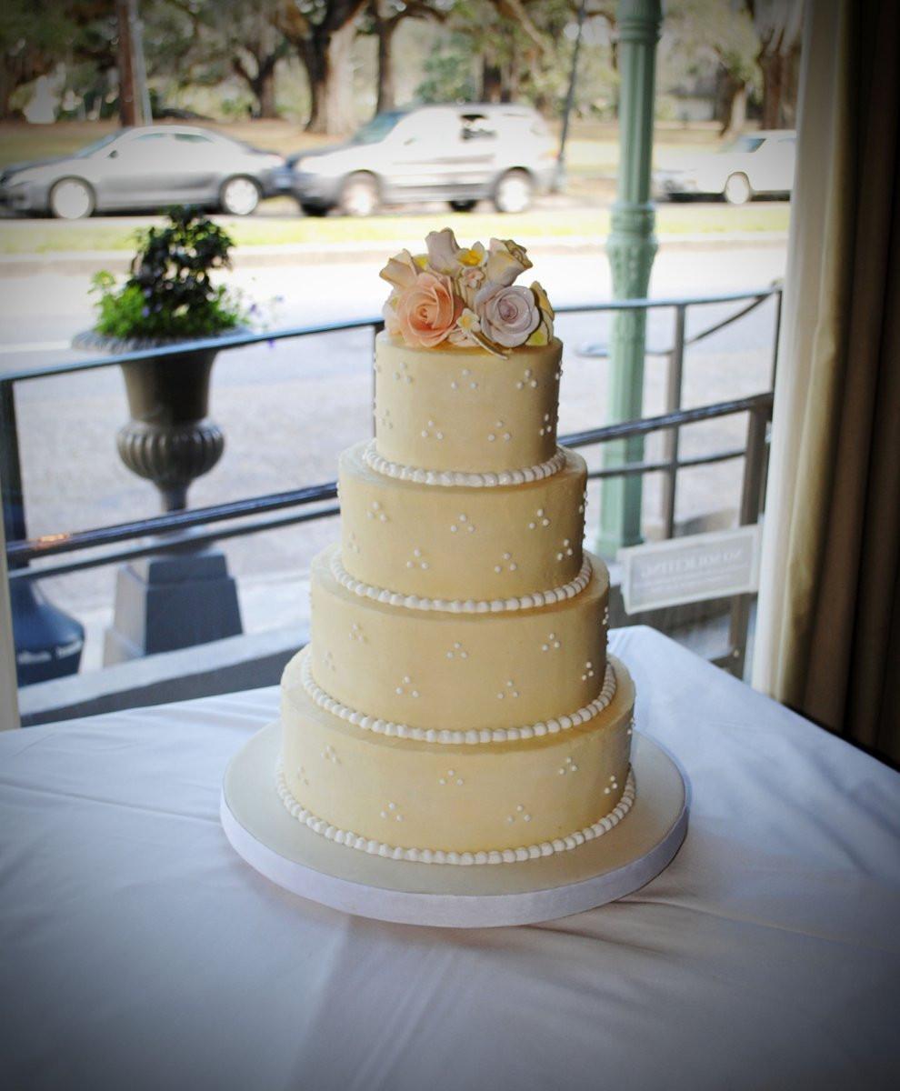 Wedding Cakes Baton Rouge  Simply Sweet Shop Wedding Cake Louisiana New Orleans