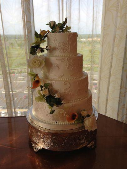 Wedding Cakes Baton Rouge  The Ambrosia Bakery Wedding Cake Baton Rouge LA