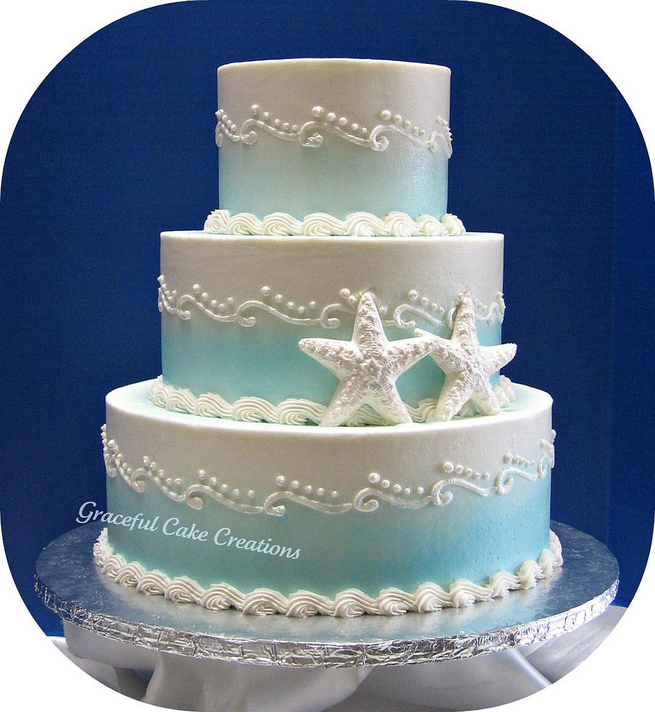 Wedding Cakes Beach  20 Beach Wedding Cakes Ideas Pict
