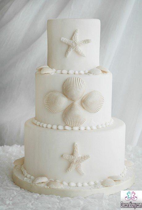 Wedding Cakes Beach Theme  32 Best Wedding Cake Designs 2018