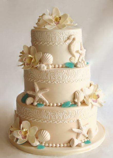Wedding Cakes Beach Themed  10 Hawaiian Style Wedding Cakes The Hawaiian Home