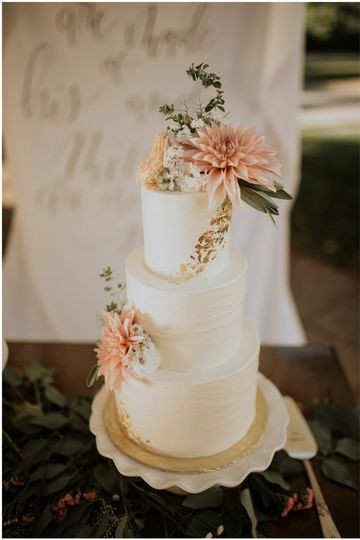 Wedding Cakes Bellingham Wa  Gathered Confections Wedding Cake Bellingham WA