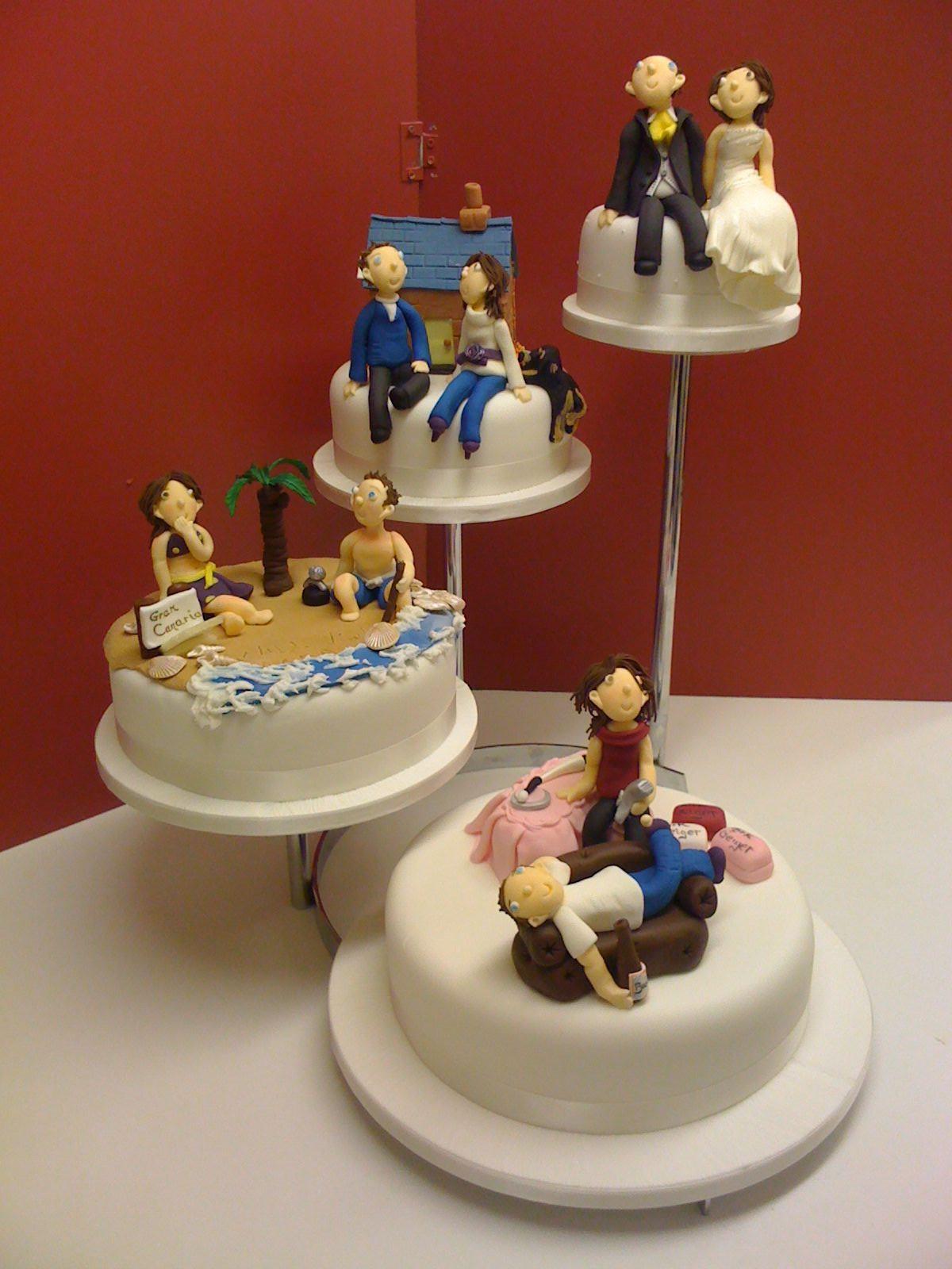 Wedding Cakes Blogs  Four tier Novelty Wedding Cake Jenny s Cake Blog