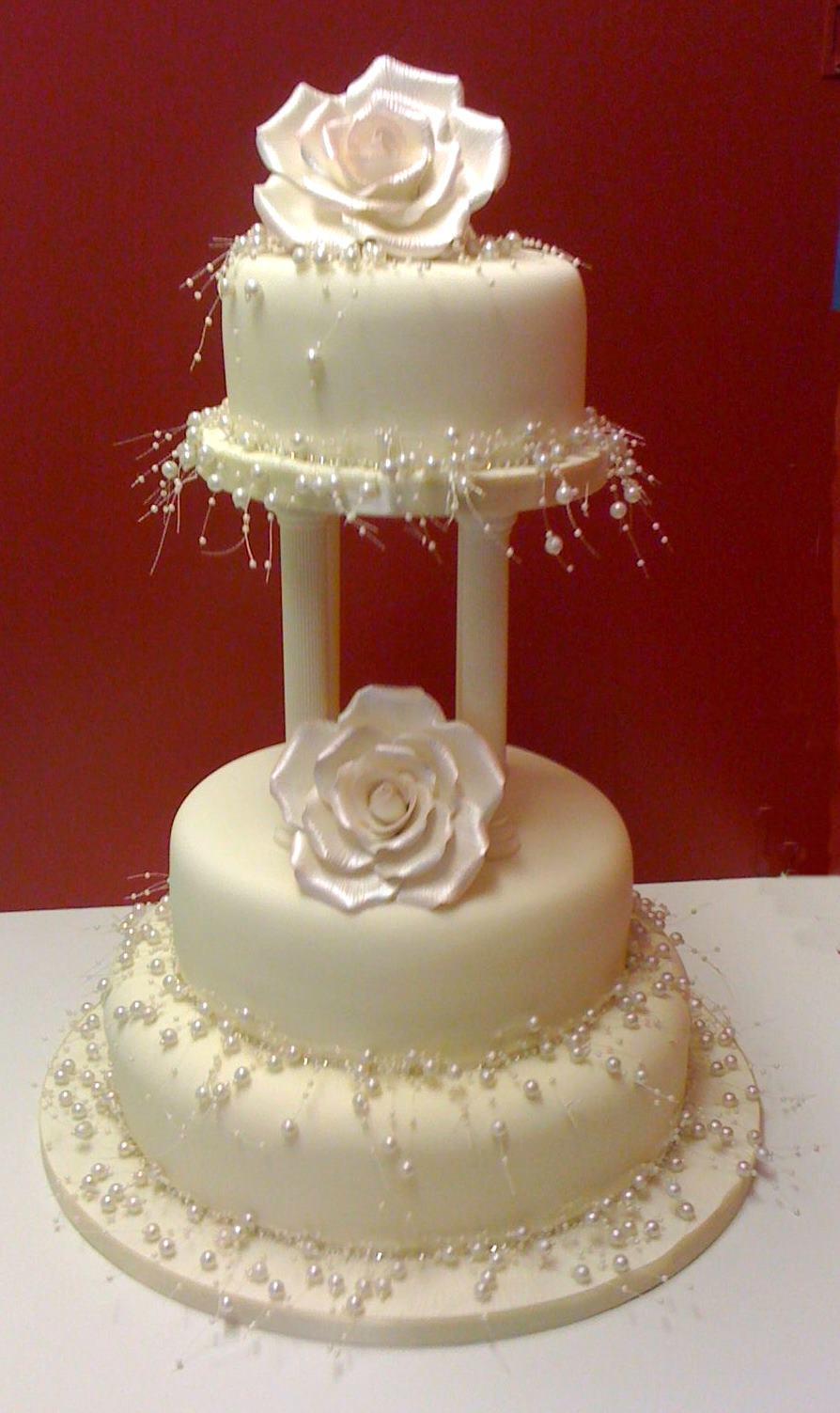 Wedding Cakes Blogs  Pearl wedding cake Jenny s Cake Blog – Wedding cakes and