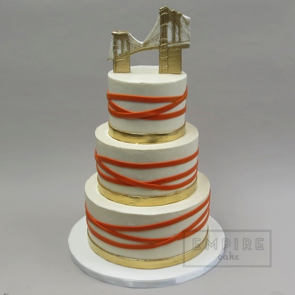 Wedding Cakes Brooklyn  Brooklyn Bridge Empire Cake
