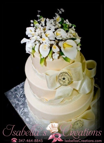 Wedding Cakes Brooklyn  Isabella s Creations Brooklyn NY Wedding Cake