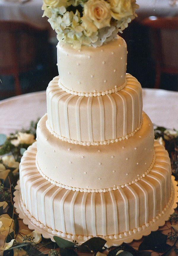 Wedding Cakes Budget  wedding cake icing buttercream DIY Wedding Cake Icing on