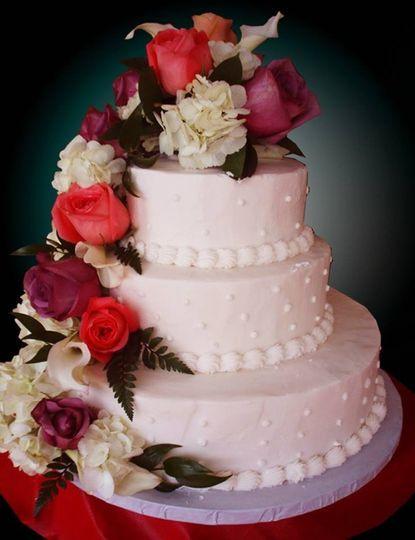 Wedding Cakes Buffalo Ny  Caramici s Bakery Wedding Cake Buffalo NY WeddingWire