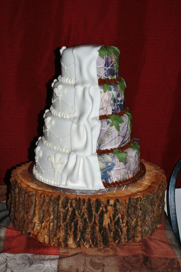 Wedding Cakes Camo  17 Best images about Wedding cake ideas on Pinterest