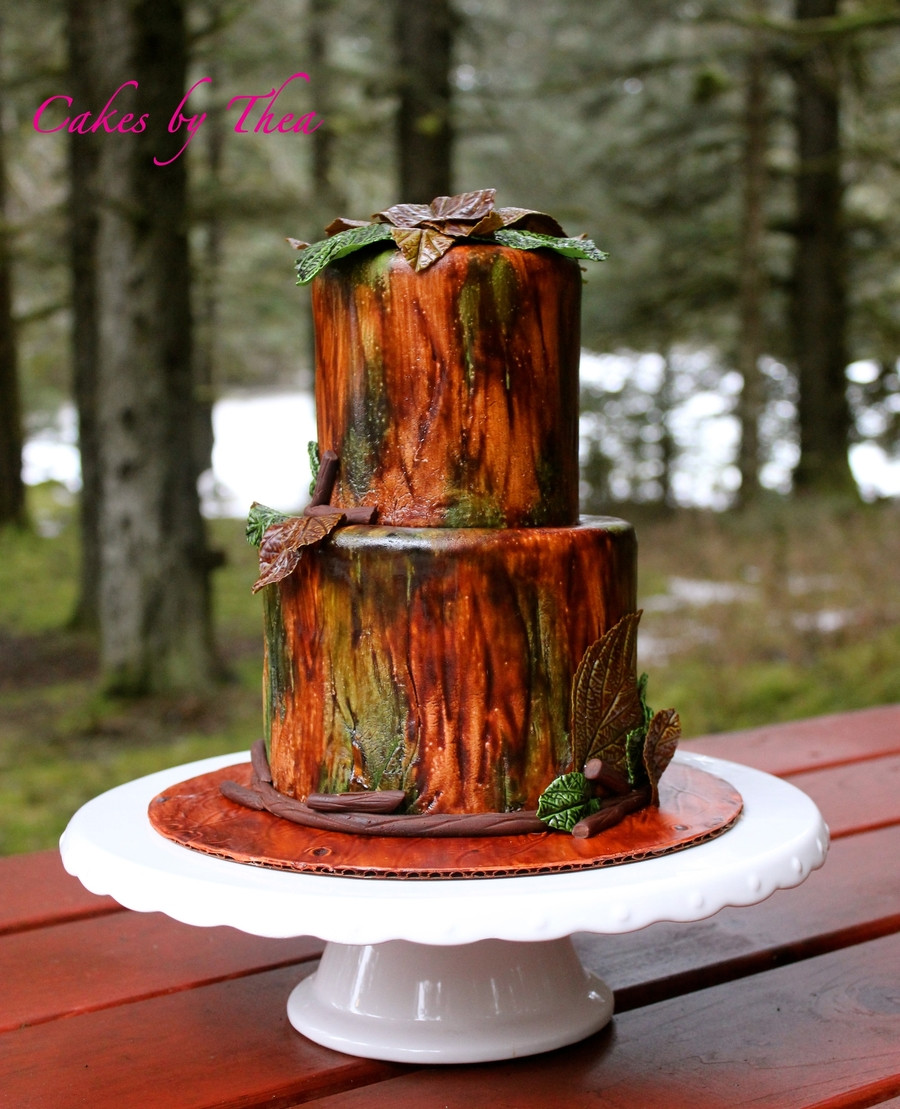 Wedding Cakes Camo  Camouflage Wedding Cake CakeCentral
