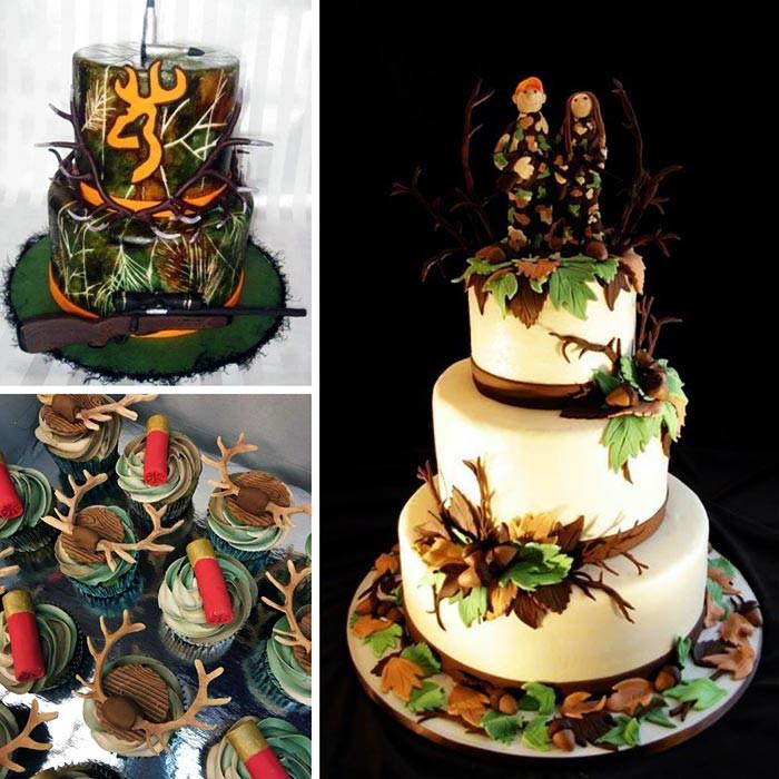 Wedding Cakes Camo  You had me at Camo
