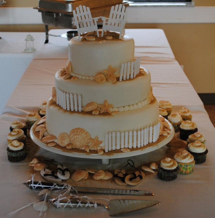 Wedding Cakes Cape Cod  103 best Cakes By Sarah Lake Worth images on Pinterest