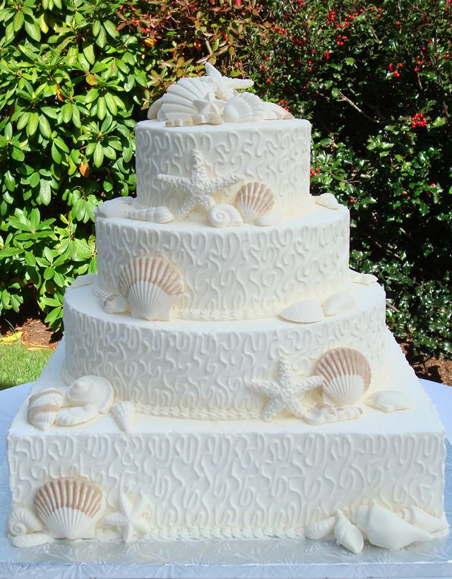 Wedding Cakes Cape Cod  78 ideas about Coastal Wedding Cakes on Pinterest