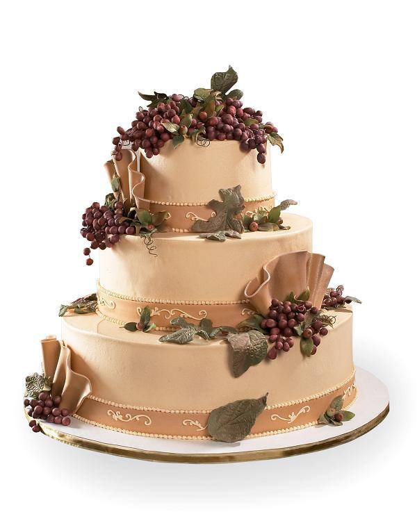 Wedding Cakes Catalogue  Winery Wedding Design Cake Product Details