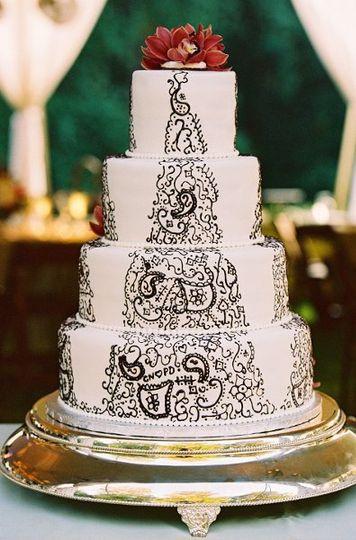 Wedding Cakes Charlottesville Va  Maliha Creations Wedding Cake Charlottesville VA