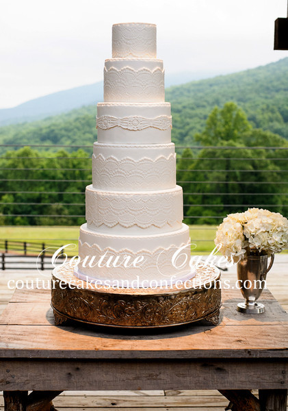 Wedding Cakes Chattanooga Tn  Couture Cakes & Confections Chattanooga TN Wedding Cake