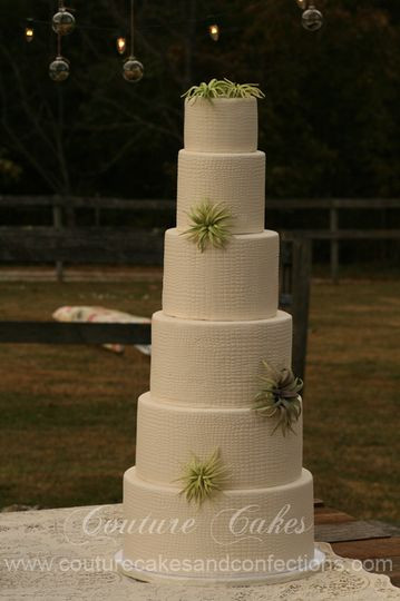 Wedding Cakes Chattanooga Tn  Couture Cakes & Confections Wedding Cake Chattanooga
