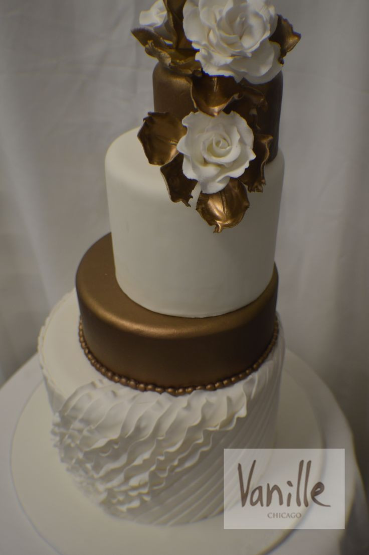 Wedding Cakes Chicago  51 best Vanille Chicago Wedding Cakes images on Pinterest