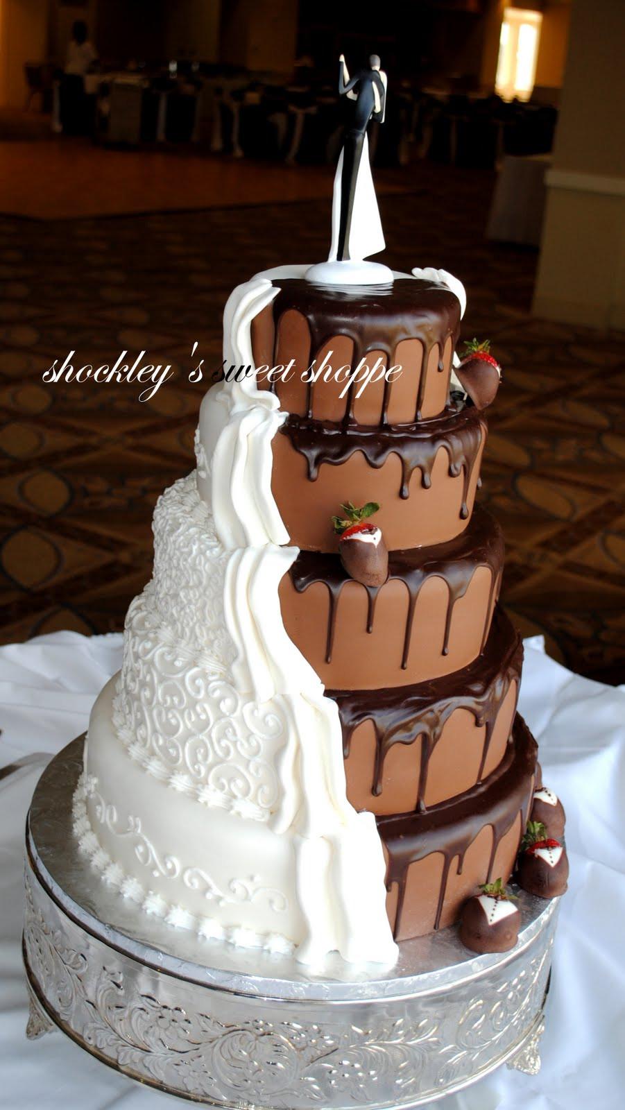 Wedding Cakes Chocolate  Shockley s Sweet Shoppe