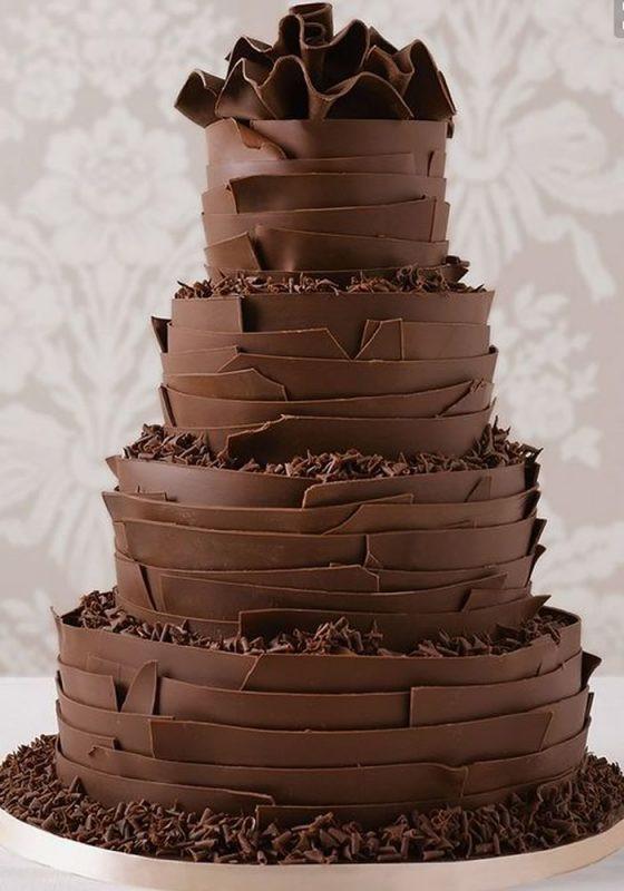 Wedding Cakes Chocolate  Do you Like the Rustic Theme Look These 7 Wedding Cake Ideas