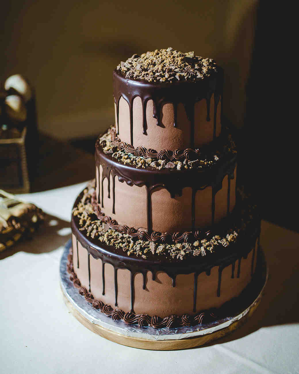 Wedding Cakes Chocolate  26 Chocolate Wedding Cake Ideas That Will Blow Your Guests