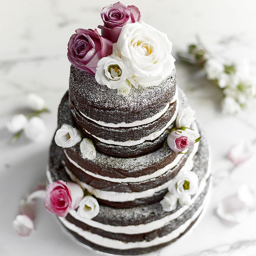 Wedding Cakes Chocolate  Chocolate Showstopper Cake
