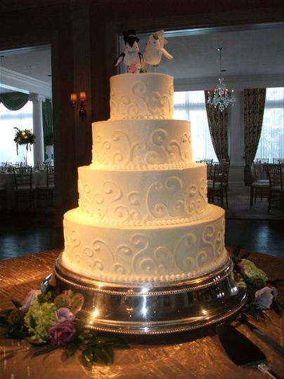 Wedding Cakes Cincinnati Ohio  A Spoon Fulla Sugar Wedding Cake Cincinnati OH