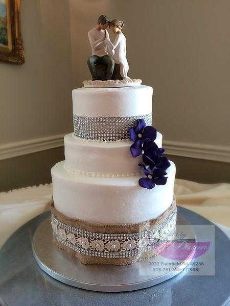 Wedding Cakes Cincinnati Ohio  Sweets by LaDawn Cincinnati OH Wedding Cake