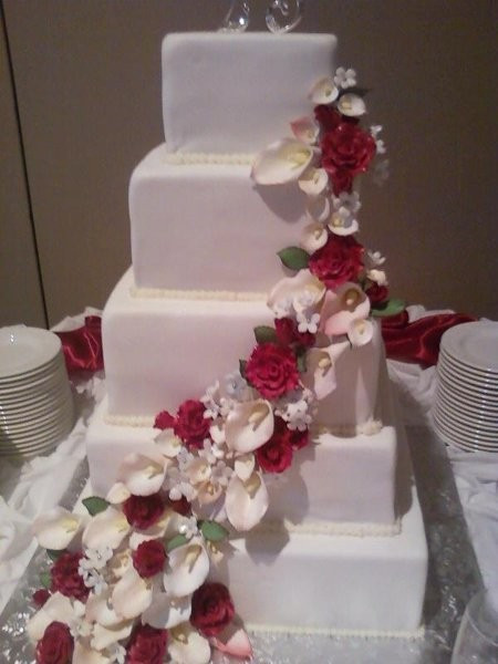 Wedding Cakes Clarksville Tn  Sugar Buzz Bakery Wedding Cake Tennessee Memphis