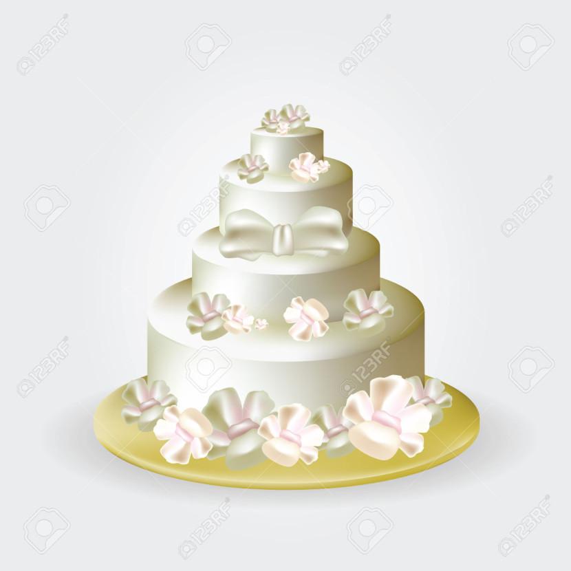 Wedding Cakes Clipart  Wedding Cake Clip Art Clipartion