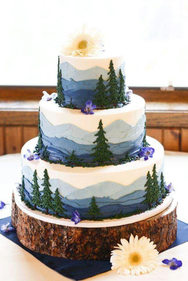 Wedding Cakes Colorado  National Park Cake Awesome Cakes Pinterest