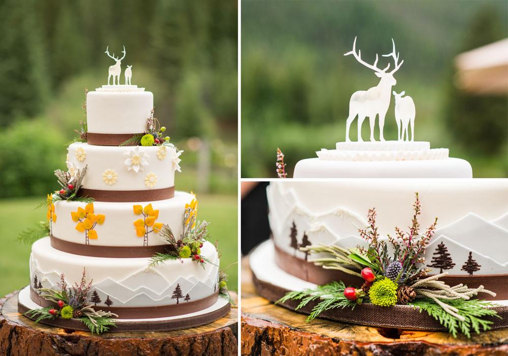 Wedding Cakes Colorado  A Fun & Simple Wedding at Keystone Colorado Weddings
