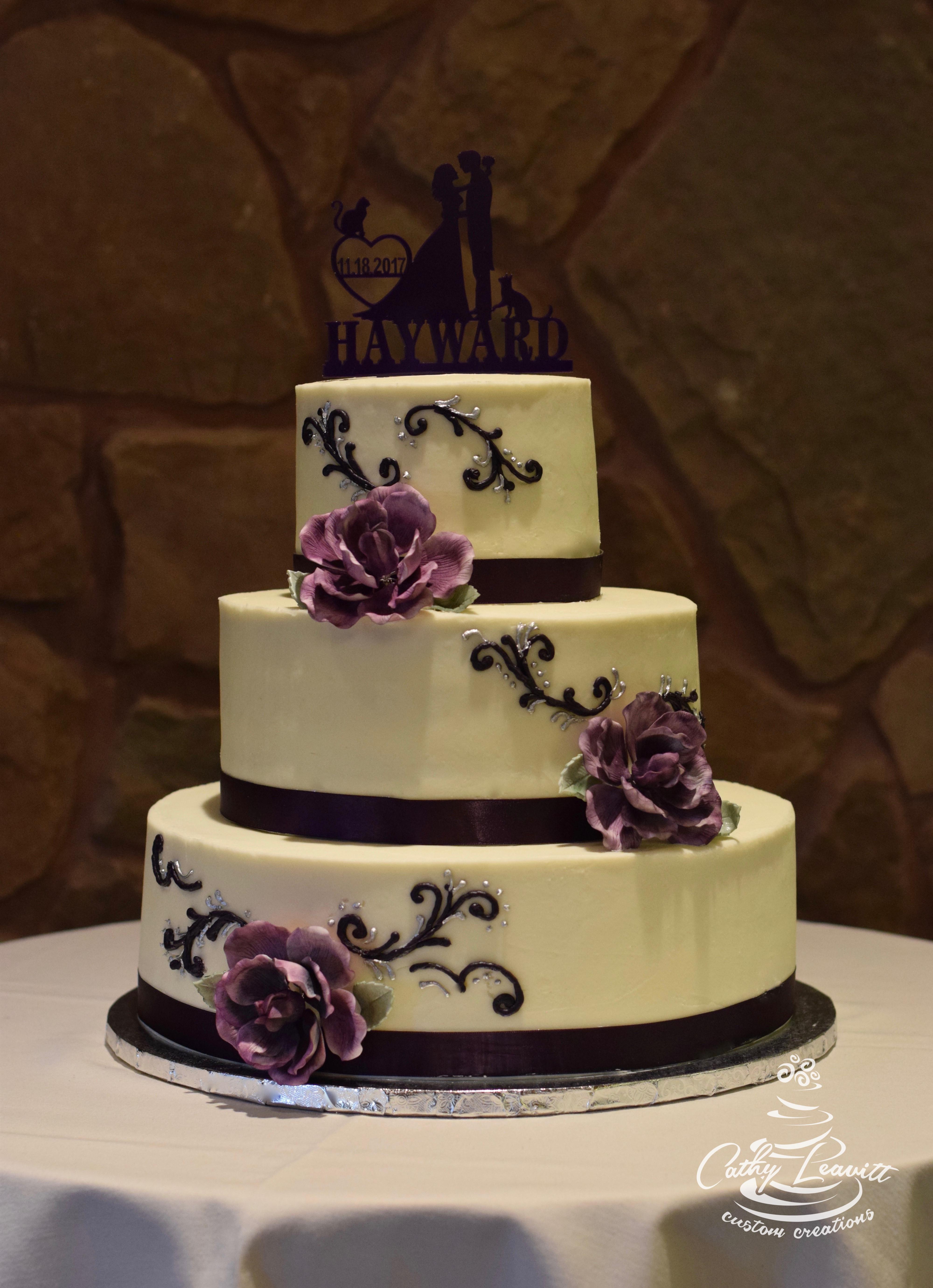 Wedding Cakes Colorado  Colorado Springs wedding cakes by Cathy Leavitt custom