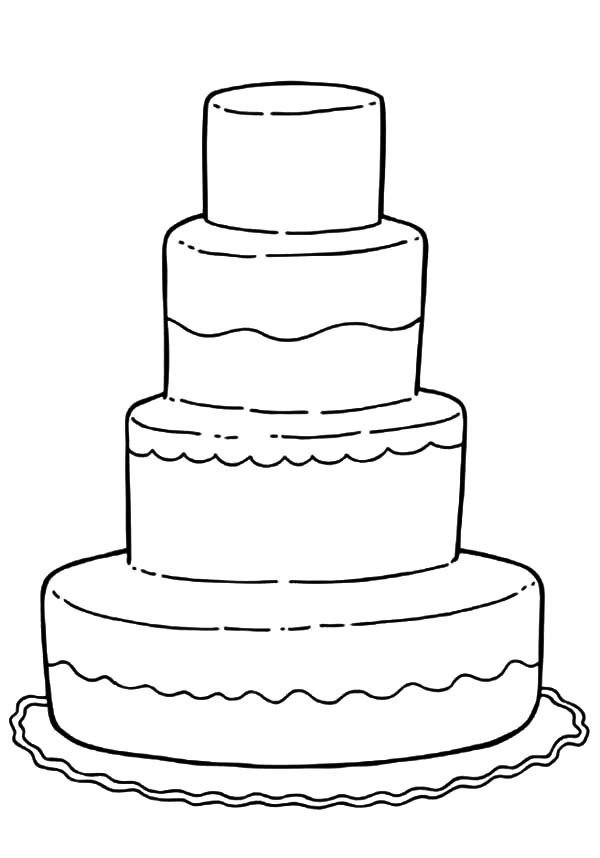 Wedding Cakes Coloring Pages the Best Ideas for Wedding Coloring Pages Bestofcoloring