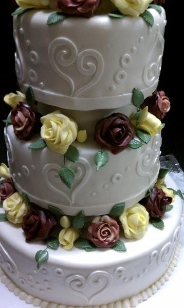 Wedding Cakes Columbus Ga  Kats Occasional Cakes Wedding Cake Columbus Ga Weddingwire