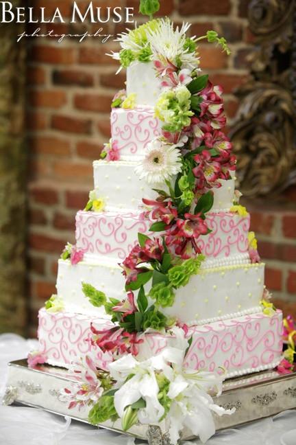 Wedding Cakes Columbus Ga  14 best Martha Stewart Wedding Cakes images on Pinterest