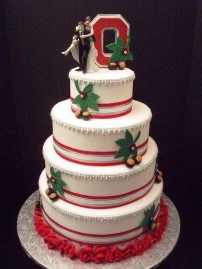 Wedding Cakes Columbus Ohio  Scrumptious Crumbs LLC Wedding Cake Columbus OH
