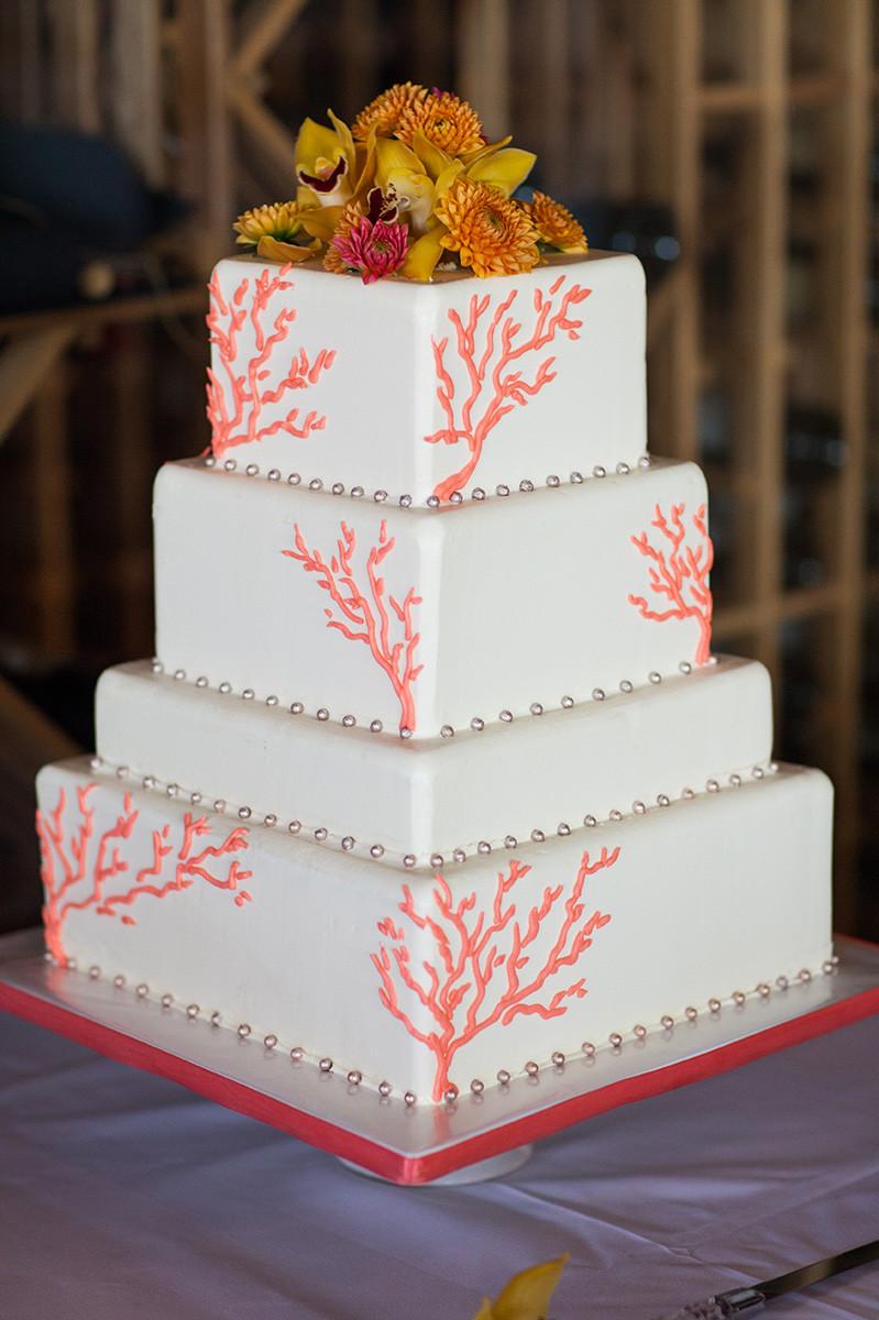 Wedding Cakes Coral  Wedding Cake Gallery