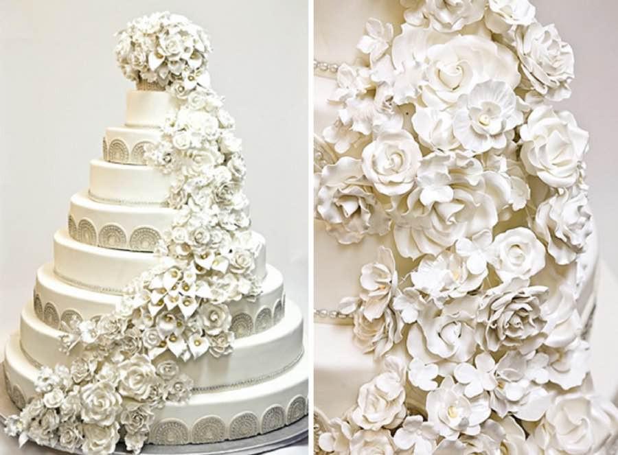 Wedding Cakes Cost  Wedding Cake Costs 4 Celebrity Cake Prices Over $10 000