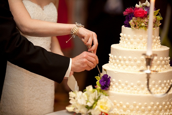 Wedding Cakes Cutting  Bride & Groom Cutting The Wedding Cake What Should You
