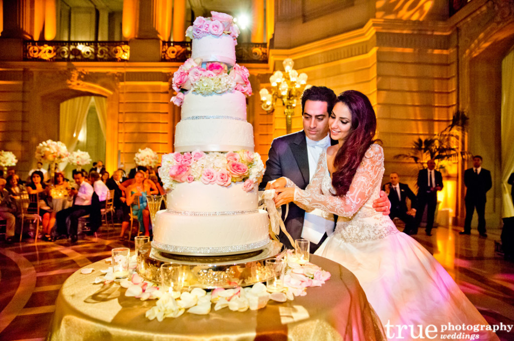 Wedding Cakes Cutting  Wedding Traditions Explained Cake Cutting Tradition