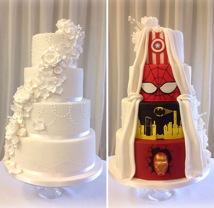 Wedding Cakes Dc  This Couple Had The Best promise And Went With A 'Two