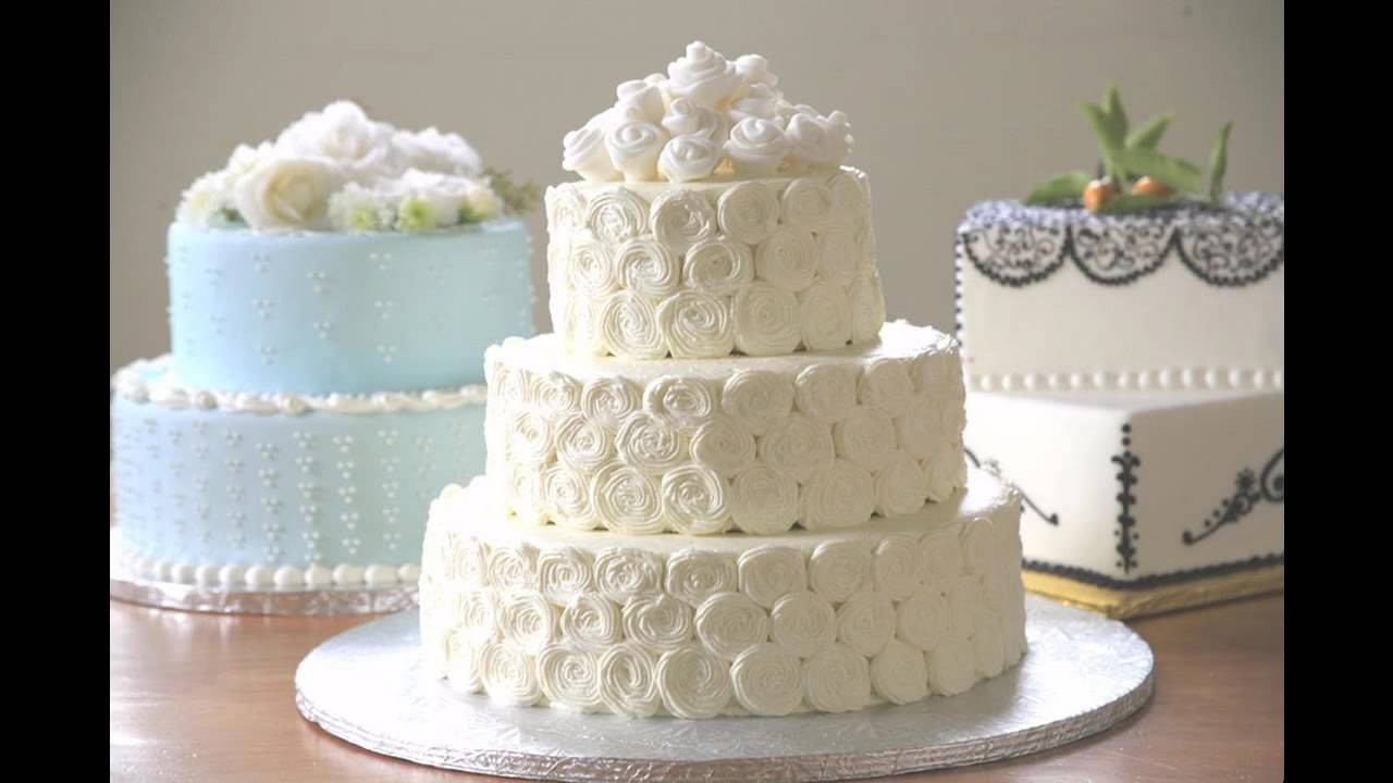Wedding Cakes Decor  Simple Wedding cake decorating ideas