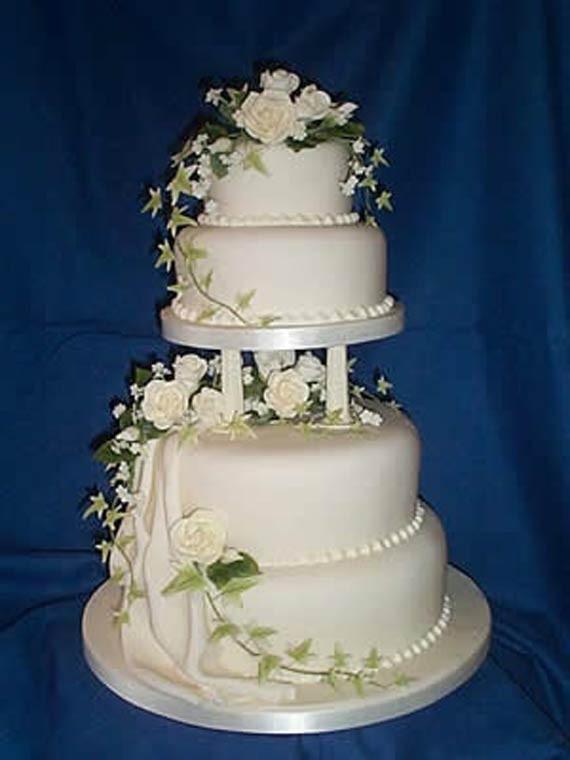 Wedding Cakes Decor  Goes Wedding Simple Wedding Cakes Decorating Ideas by