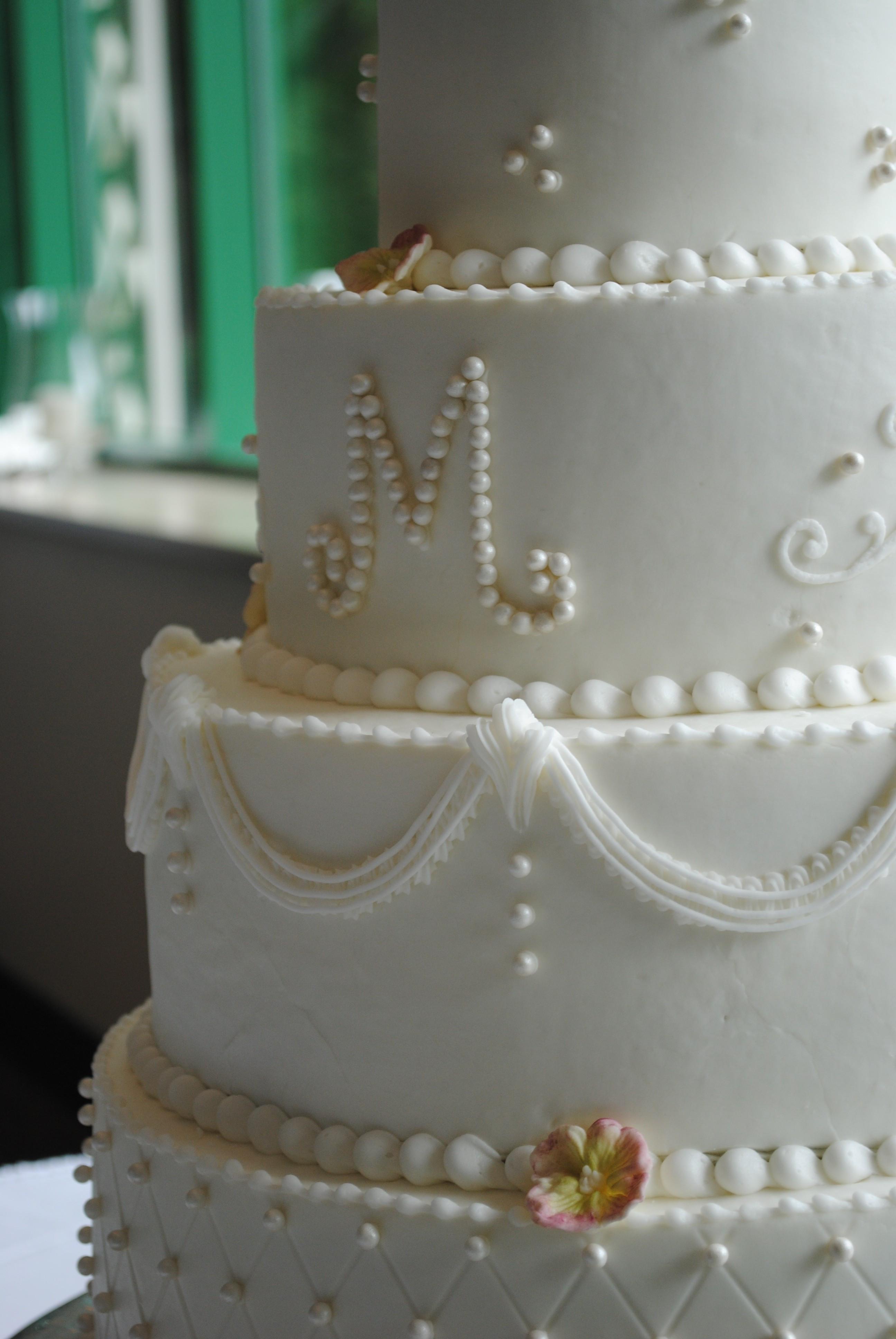 Wedding Cakes Decorated  Buttercream Wedding Cake Options Kathy and pany Wedding
