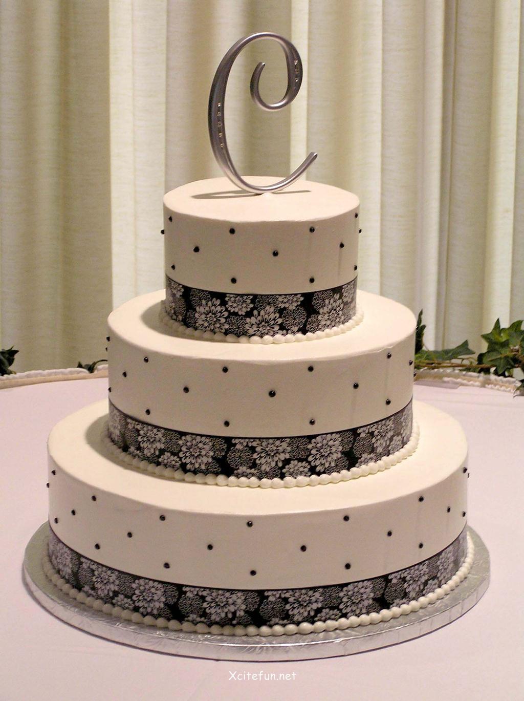 Wedding Cakes Decorated  Wedding Cakes Decorating Ideas XciteFun