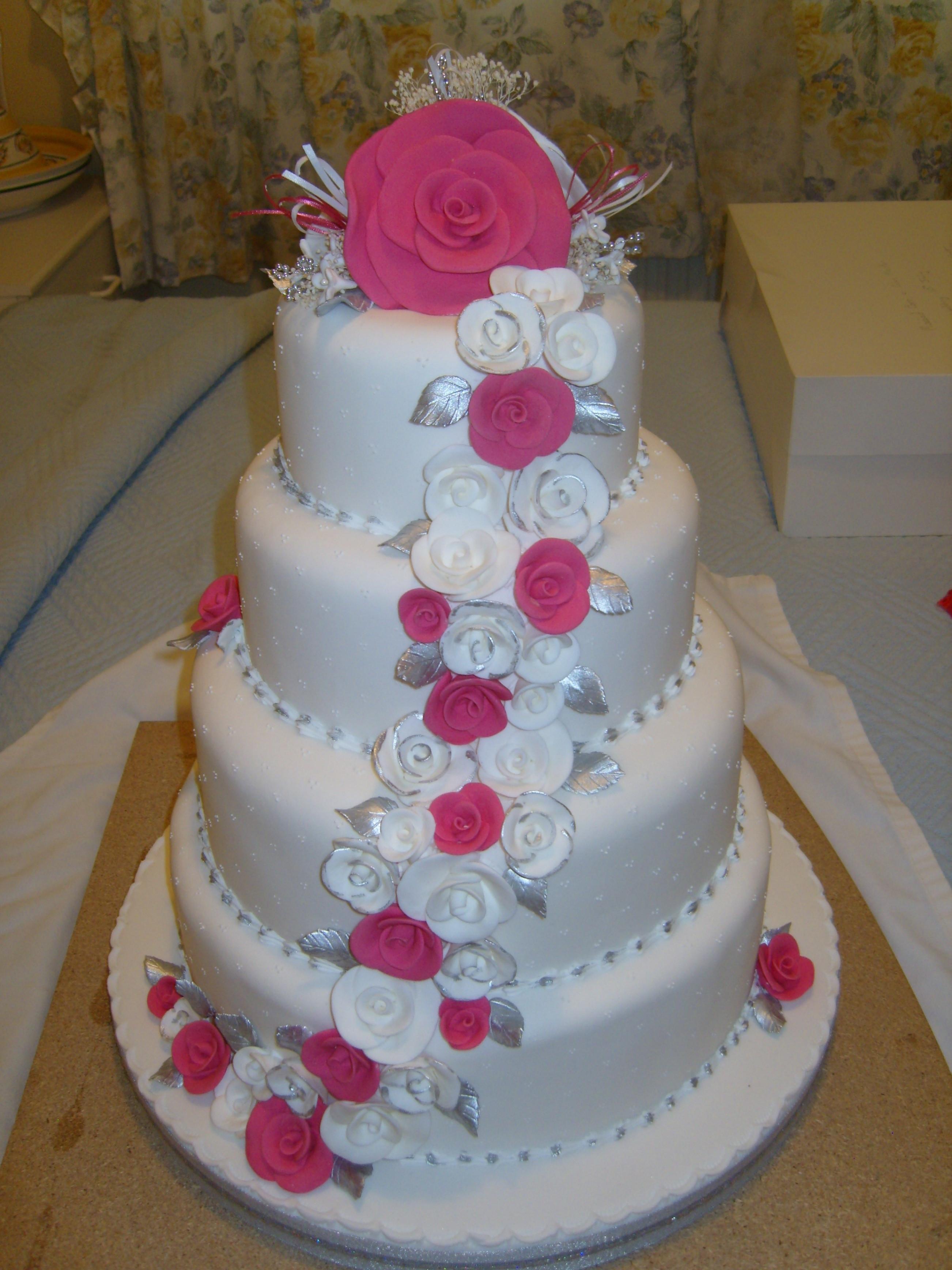 Wedding Cakes Decorated  Wedding Cake 1