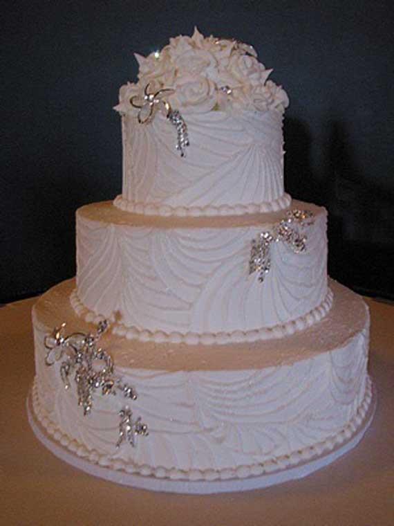 Wedding Cakes Decoration  Goes Wedding Glamor Wedding Cakes Decoration