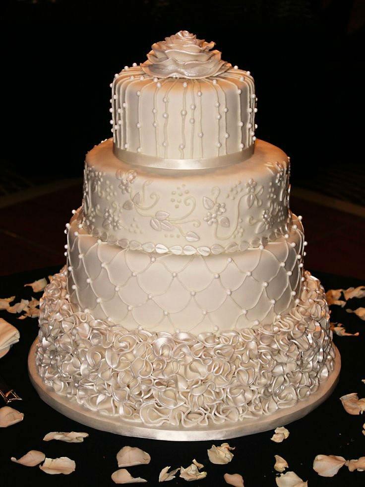 Wedding Cakes Decorations  41 Adorable Winter Wedding Cake Ideas